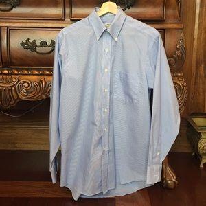 Eagle Dressmakers Blue/White Casual Dress Shirt